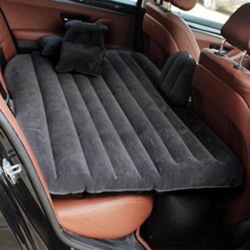 PJXLAK Materasso Gonfiabile Automobile-Montato per affollare Le Automobili,nero