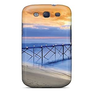 Iphone 5/5S PznjRNn5308NqXnv Holiday Beach Setting At Sunset Tpu Silicone Gel Case Cover. Fits Iphone 5/5S