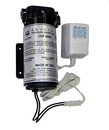 Aquatec 6800 series Booster pump with Transformer - Series Booster Ro