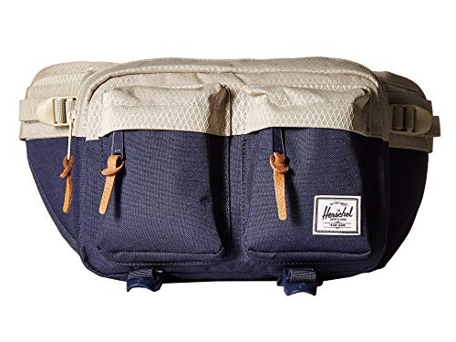 Herschel Supply Co. Eighteen Waist Pack, Peacoat/Eucalyptus, One Size by Herschel Supply Co.