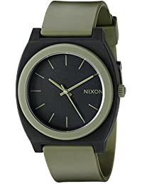 Nixon Unisex The Time Teller P Matte Black/Surplus