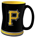 MLB Pittsburgh Pirates 14-Ounce Sculpted Relief Mug