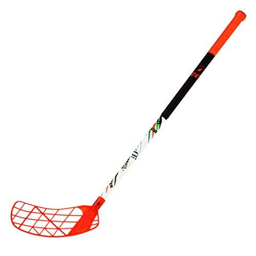 (ACCUFLI Floorball Stick A70 Junior Left 32inch Orange)