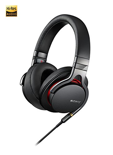 Sony MDR1A Premium Hi-Res Stereo Headphones (Black) by Sony (Image #3)