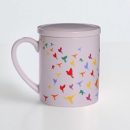 LLA Taza de café el Tazón de Agua Minimalista Tazas de Cerámica Café con