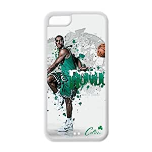 Boston Celtics Rajon Rondo Image Design Apple iPhone 5C TPU Case-by Allthingsbasketball