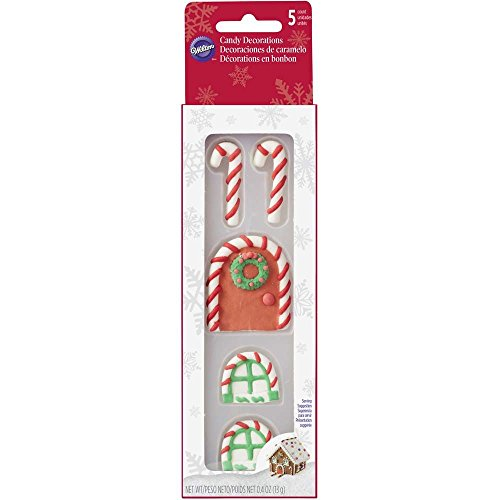 and Window Gingerbread House Decorating Candy ()