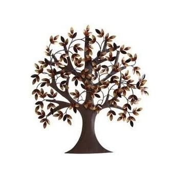 this item tree of life metal wall art decor sculpture 31x29 - Metal Wall Art Decor And Sculptures
