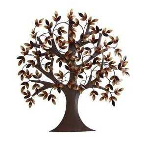 Tree Of Life Metal Wall Art Decor Sculpture 31x29