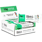 Blake's Seed Based Protein Bar - Made with Pea Protein - Chocolate Mint - Nut-Free, Gluten-Free, Vegan, 2.12 oz. (Pack of 12)