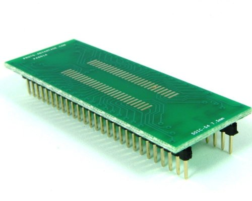 Proto-Advantage SOIC-54 to DIP-54 SMT Adapter (1.27 mm Pitch, 300 mil Body) ()