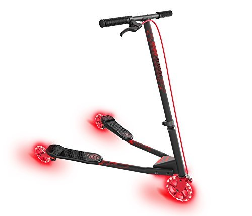- Yvolution Neon Fliker by Vybe - LED Kids Fliker Scooter (red)
