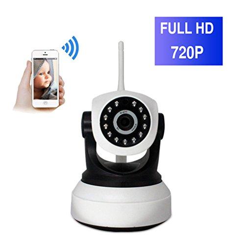 ShengyaoHul 720P HD Indoor Babyphone Plug-And-Play, 1 Mp Sistema Di Telecamere A Buon Mercato / Visualizzazione A Distanzaelecamera Wireless Ip/ Telecomando / Rilevamento Del Movimento Telecamere Di S