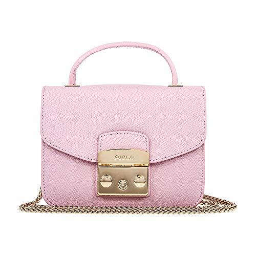 Furla Women's Metropolis Mini Top Handle, Camelia, Pink, One Size