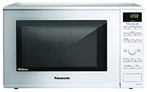 Panasonic NN-SD654W White 1200W 1.2 Cu. Ft. Countertop Microwave Oven with Inverter Technology