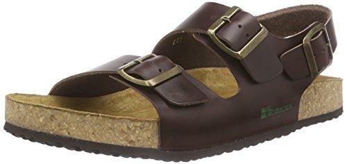 El Naturalista Unisex Adults' Waraji Open Toe Sandals Brown (Brown)