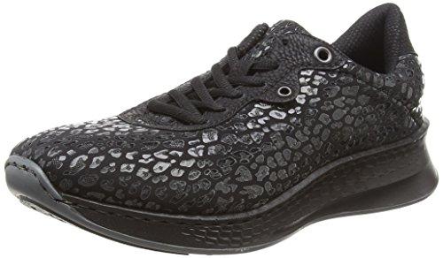 Noir Rieker schwarz 00 Schwarz Femme Sneakers N5609 schwarz 00 Basses qxvqURY
