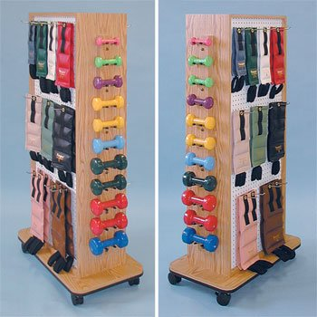 Joey Peg Rac -PegRac Element series Model 5129 - Storage rac system - Physical Therapy / Exercise Equipment Storage Item# 5129