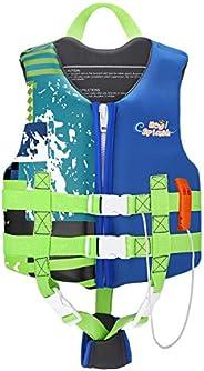 Life Jacket for Kids, HeySplash Girl Boys Child Size Watersports Swim Vest Flotation Device Trainer Swimsuit S