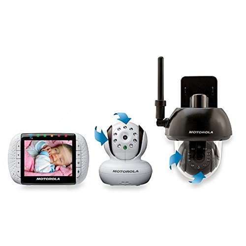 motorola additional camera for motorola mbp33 and mbp36 baby monitor brown with white price. Black Bedroom Furniture Sets. Home Design Ideas