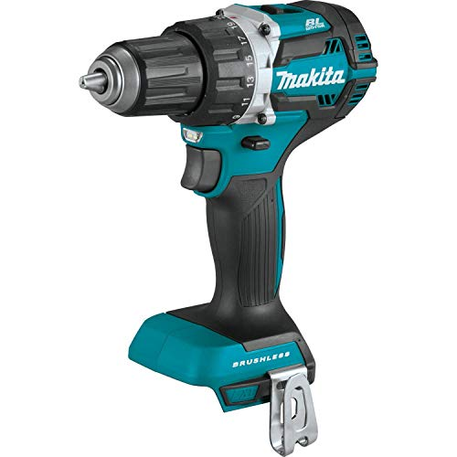 Makita XFD12Z 18V LXT Lithium-Ion Brushless Cordless 1/2″ Driver-Drill, Tool Only,