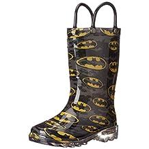 Western Chief Kids Batman Signal Light-Up Boot(Toddler/Little Kid/Big Kid)