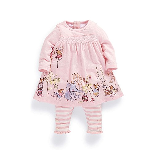 Ferenyi Baby Girls Summer Clothes Cartoon Long-sleeved Dress - Long Sleeved Dresses For Baby