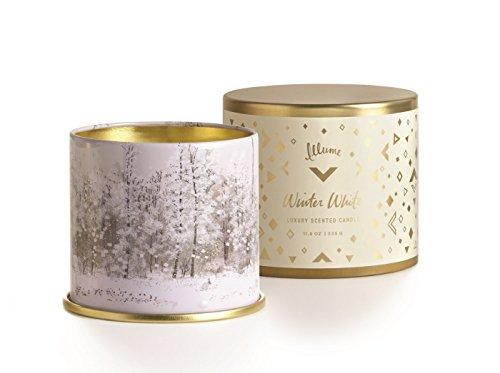 Illume Candle Tin Large Winter White, 1 Each