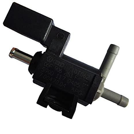 Amazon com: Turbocharger Boost Solenoid Valve 06F906283F Boost