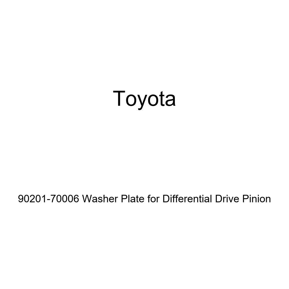 Genuine Toyota 90201-70006 Washer Plate for Differential Drive Pinion