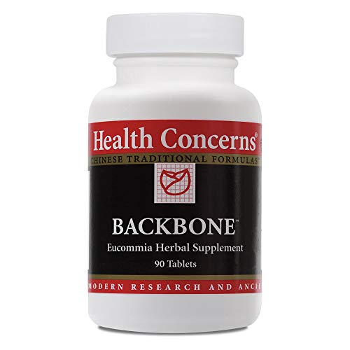 Health Concerns - Backbone - Eucommia Herbal Supplement - Wan Du Hua Yu Tang - Supports Bone Health and Healthy Blood Flow - 90 Tablets