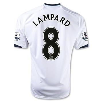 free shipping f77b7 61989 Amazon.com : Chelsea 12/13 LAMPARD Away Soccer Jersey ...