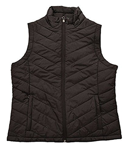 Columbia Womens Morning Light III Onmi Heat Winter Jacket Vest , BLACK ()
