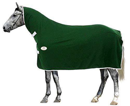 Derby Originals Soft Fleece Moisture Wicking Horse Cooler with Neck Cover