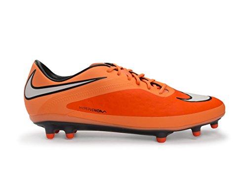Nike Mens Hypervenom Phatal Fg Fotboll Cleat Hyper Crmsn / Vit-atmc Orng-blk Hyprcr / Blanc-orgato-orgatio