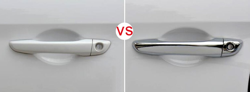 Standard Only Fit Left Hand Drive ABS Chrome Car Door Handles Cover Trim Decor 8PCS for Hyundai Elantra 2017 2018 2019 HIGH Flying