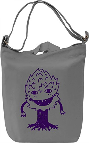 Doodle tree Borsa Giornaliera Canvas Canvas Day Bag| 100% Premium Cotton Canvas| DTG Printing|