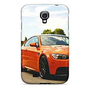 Durable Bmw M3 E92 Orange Back Case/cover For Galaxy S4
