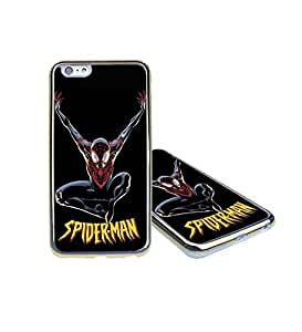 CooJedy Superhero Marvel Comics Soft Funda Case Cover for Apple IPhone 6 Plus/6s Plus - Spiderman