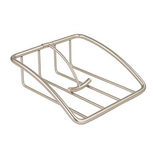 - Spectrum Diversified Euro Weighted Napkin Holder, Satin Nickel
