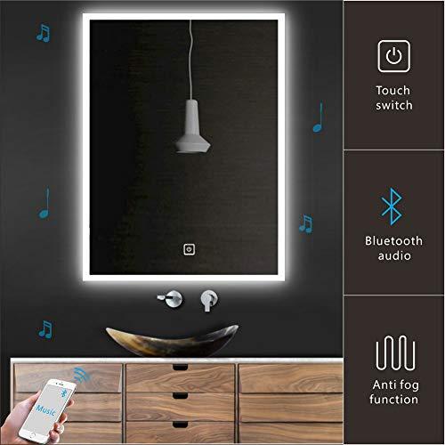 Homecart Bathroom LED Mirror Wall Mounted 24