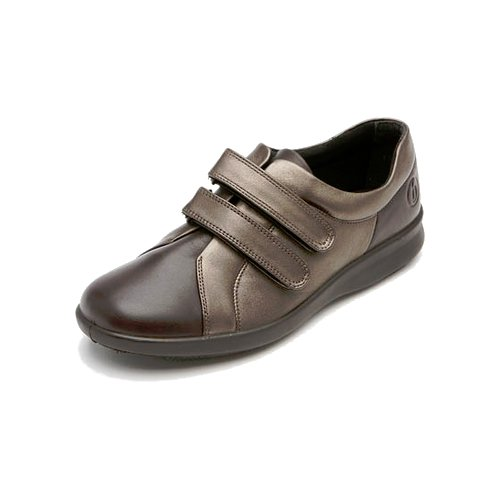 Naomi Leather Shoes UK DB Brown 4 2E Shoes Espresso Fitting Wide 5xPBwBq