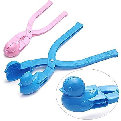 VPlus - 2 moldes para Hacer Bolas de Nieve con Forma de Pato, para niños, Juguete para ...