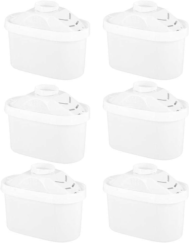 Estink Lot de 6 cartouches filtrantes pour le traitement de leau Cr/ème