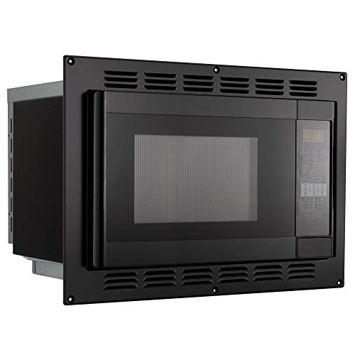 RV Convection Microwave Black 1.1 Cu. ft 120V Microwave Appliances