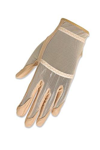 Gloves Evertan Golf (HJ Glove Women's Beige Solaire Full Length Golf Glove, Medium, Left Hand)