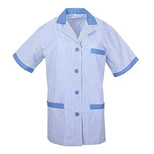 MISEMIYA Medical Uniform Scrub Top Camisa de Sanitario Unisex Adulto 8