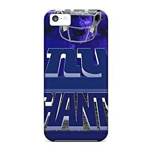 Iphone 5c JZS2108LXIc New York Giants Tpu Silicone Gel Case Cover. Fits Iphone 5c