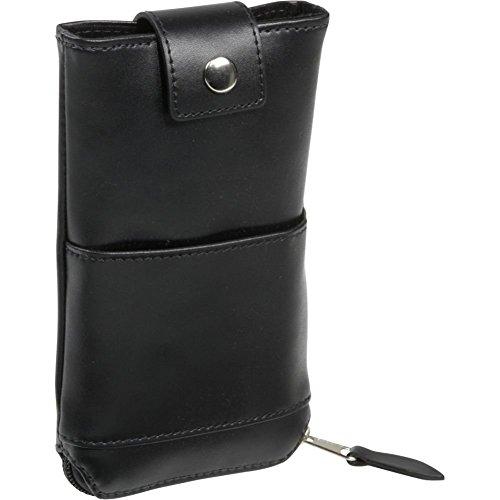 (Royce Leather Double Eyeglass Case 600-6,Black)