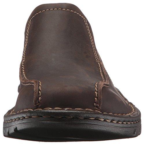 Clarks Mens Vanek Step Slip-on Loafer, Dark Brown Leather, 14 M US